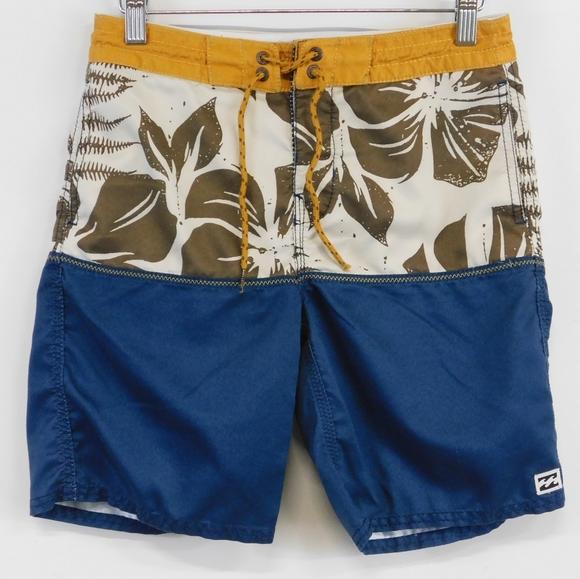 Billabong board shorts.  Waist 27